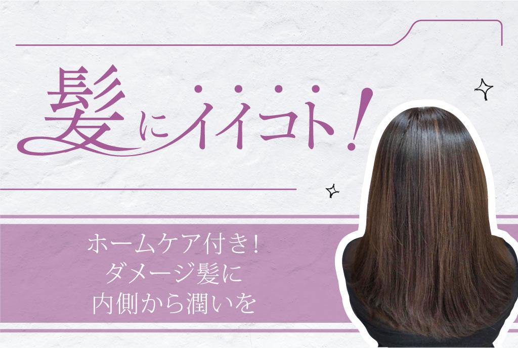 ホームケア付き! ダメージ髪に内側から潤いを  1,400B〜 - ワイズデジタル【タイで生活する人のための情報サイト】