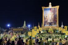 プミポン前国王の命日に 黄色のシャツ着用を呼びかける