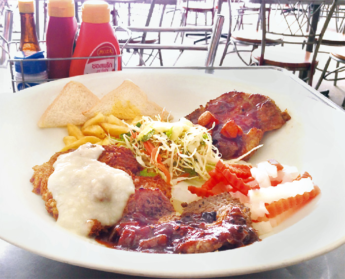 一皿3人前!ステーキ好き必食 - ワイズデジタル【タイで生活する人のための情報サイト】