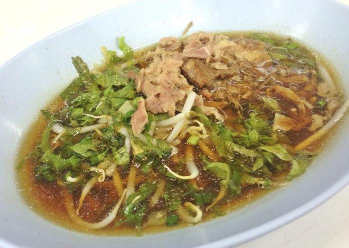 ガオラオも人気。クイティオの麺は2種類あり