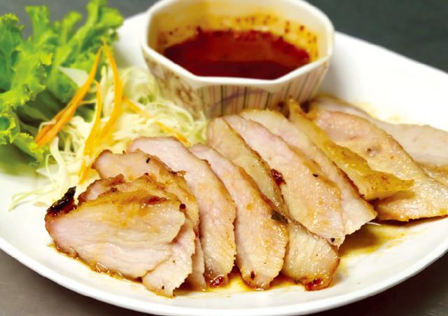 豚ノド肉の炭火焼き ・・・85B