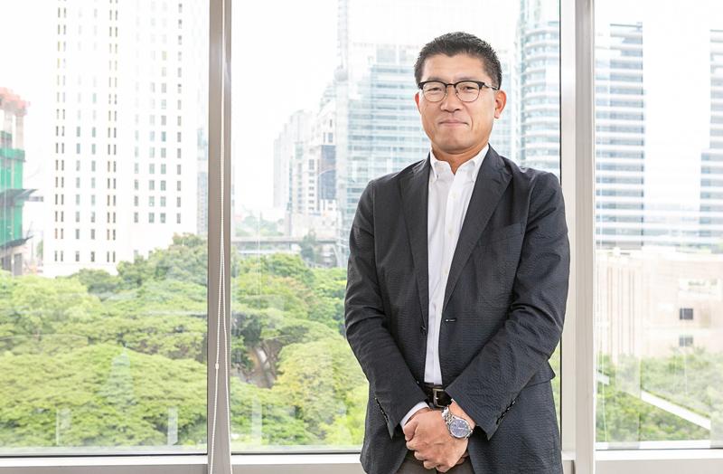 「お客様企業のIT部門をワンストップサービスでフォローしていきたい」。同社の香西茂男マネージングダイレクター