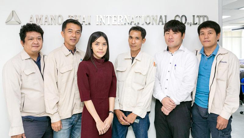 品質管理、環境エンジニアチーム - AMANO THAI INTERNATIONAL CO., LTD.