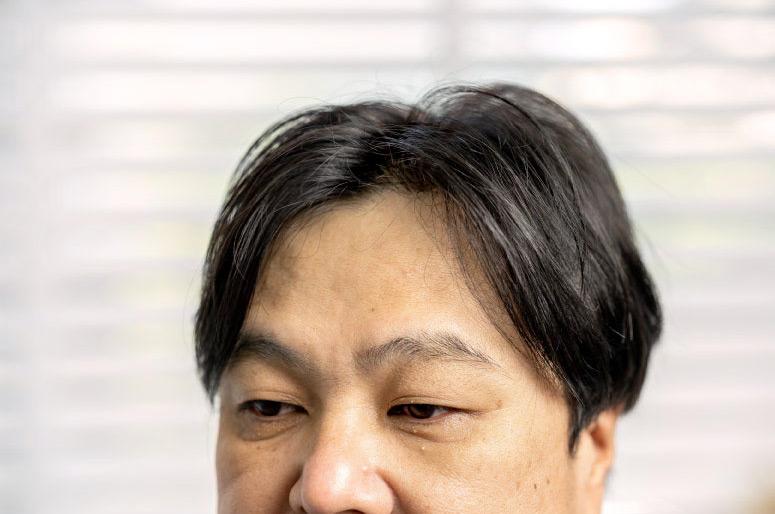 施術後は見違えたように髪に元気が出る