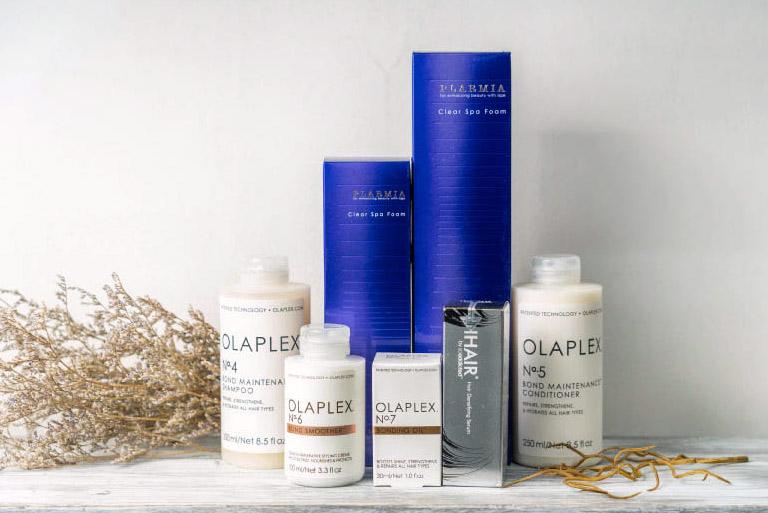 プロサロンが採用するシャンプーや発毛・育毛剤。マッサージと併用する事でさらに効果がアップする