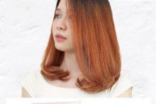 鮮やかな彩りのヘアカラーの人気が高まっていますね。オレンジは肌を明るく見せ、元気な印象を与えてくれます。ティントバーのタイガーリリーに、スロウカラーのホワイトと混ぜて仕上げたスタイル。それはビビットなオレンジの色味を生かしながらも、透明感のある柔らかい印象を増してくれます。鮮やかなヘアカラーに合わせて、メイクを楽しむのもおすすめですよ。