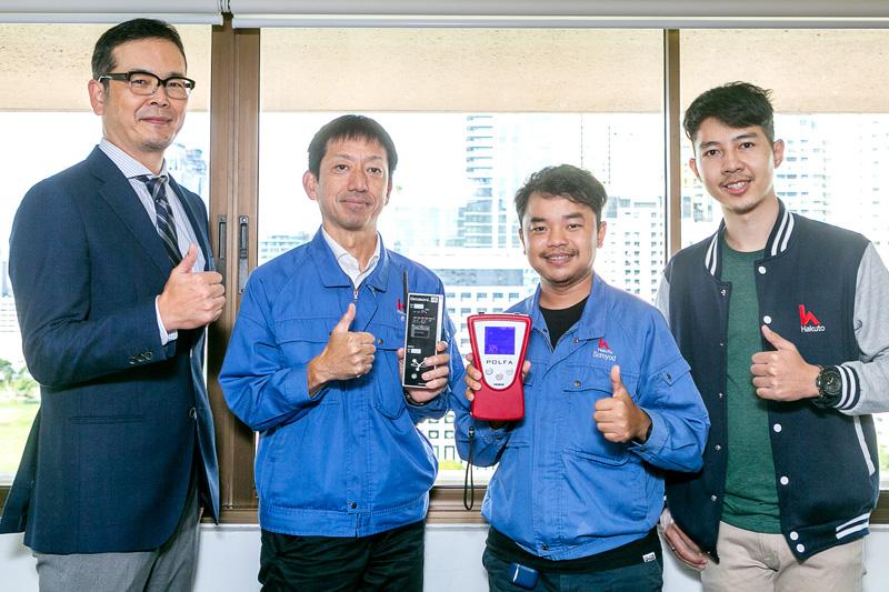 (左から)千葉氏、表氏、Somyod氏、Punnaphop氏