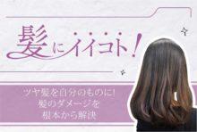 蓄積された髪へのダメージを再生へと導くトリートメント。さらにダメージの原因であり、白髪予防にも繋がる活性酸素の除去(200B)があわせておすすめ!