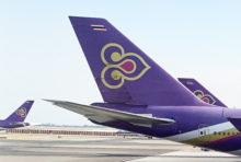 タイ国際航空、成田・関空発 特別便を11月に13便