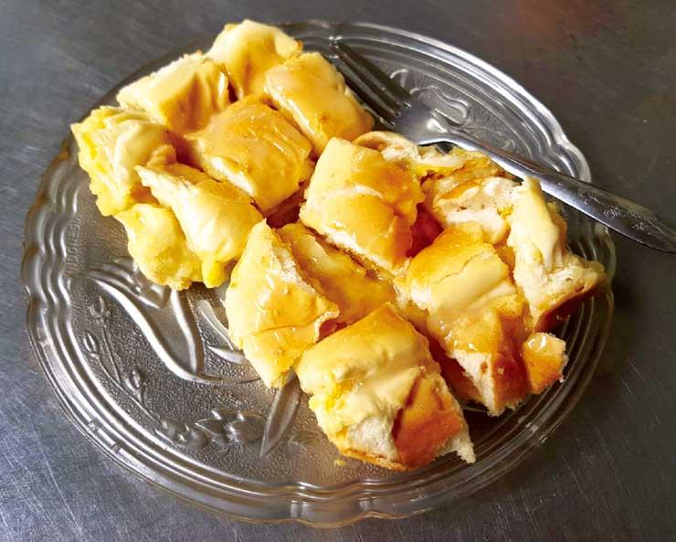 バターとコンデンスミルクの ふわふわトースト・・・ 17B