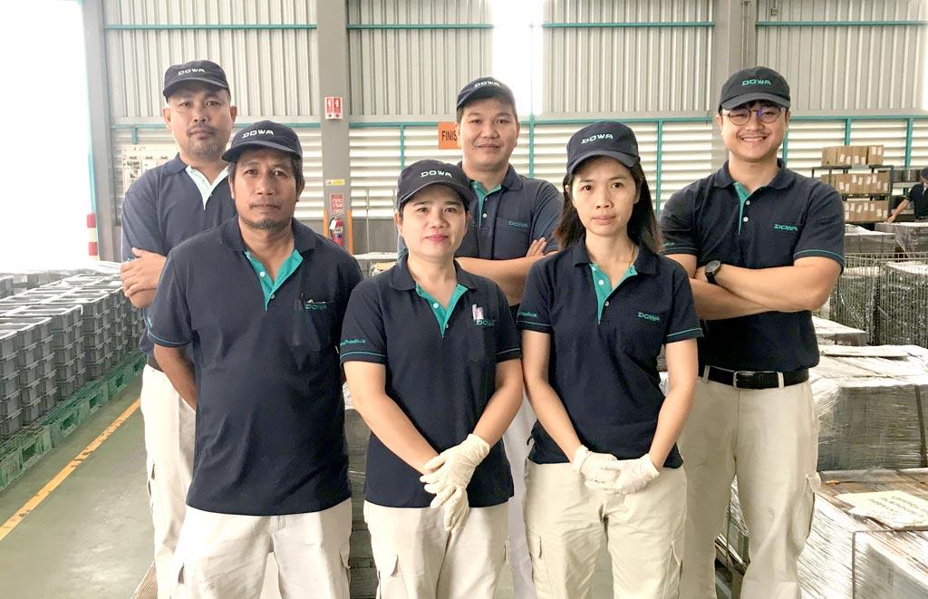 スタッフ紹介 - DOWA THERMOTECH(THAILAND) CO., LTD.