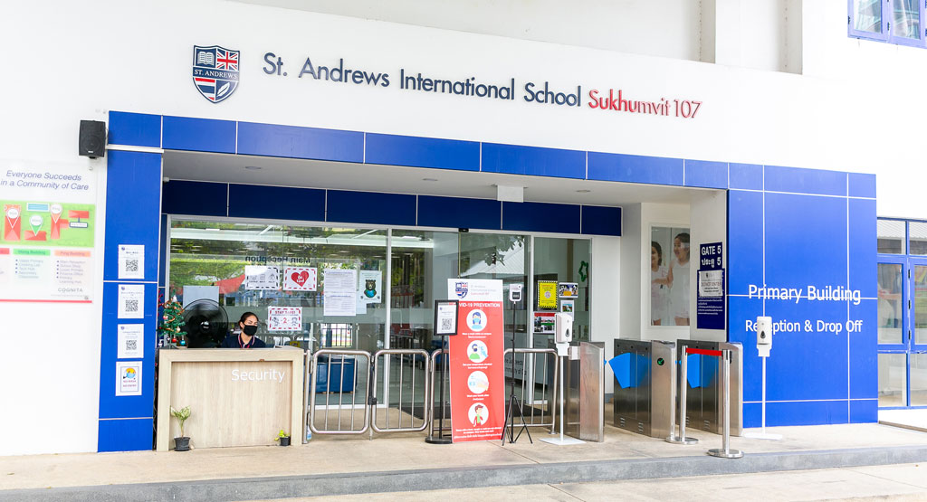 同校のエントランス - St. Andrews International School Sukhumvit 107