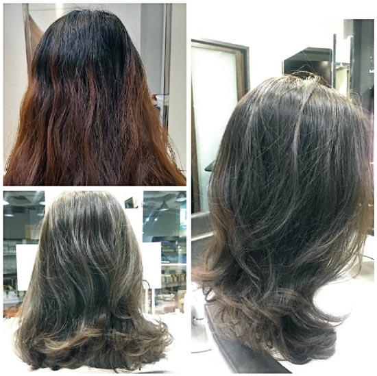 ヘアスタイル ハイライトカラー - Hair Style High-Light Color - 2,000B〜