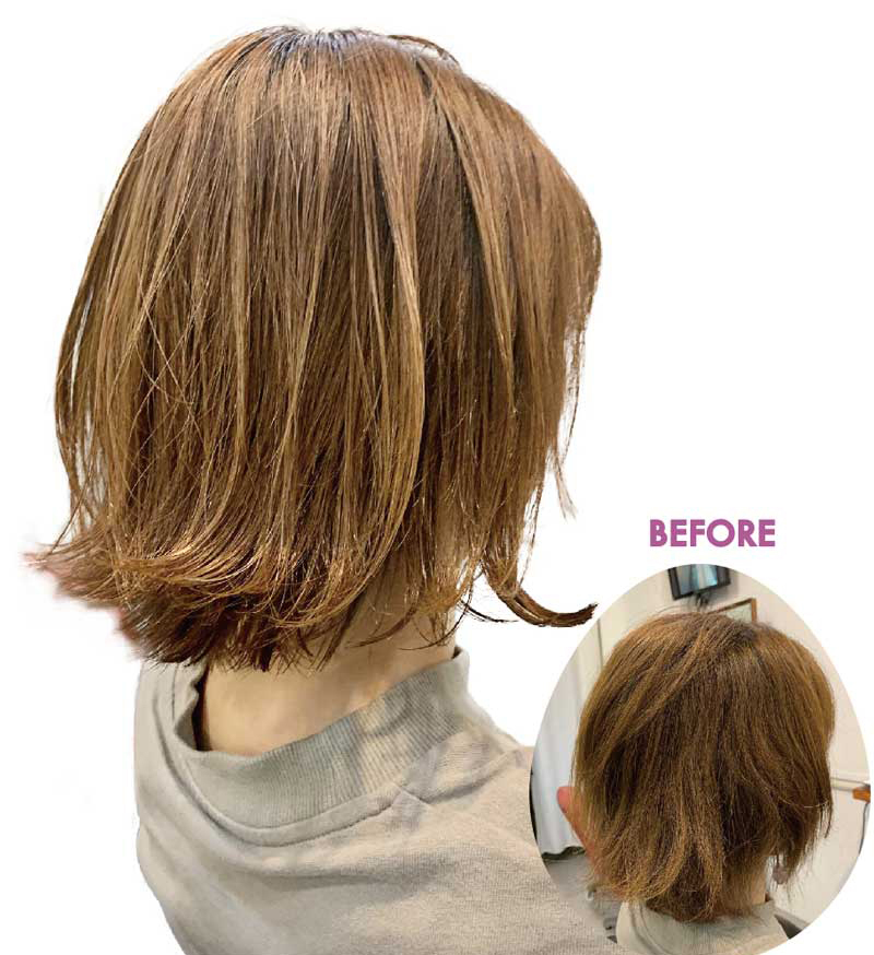 ヘアスタイル ヘアカット・Sオリジナル髪質改善 - Hair Style Layer Cut - 1,600B・3,000B→2,300B