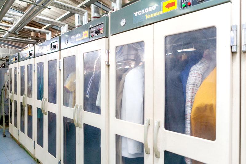 大掛かりな乾燥用施設。もちろん日本製だ - KIKUYA THAILAND CO., LTD.