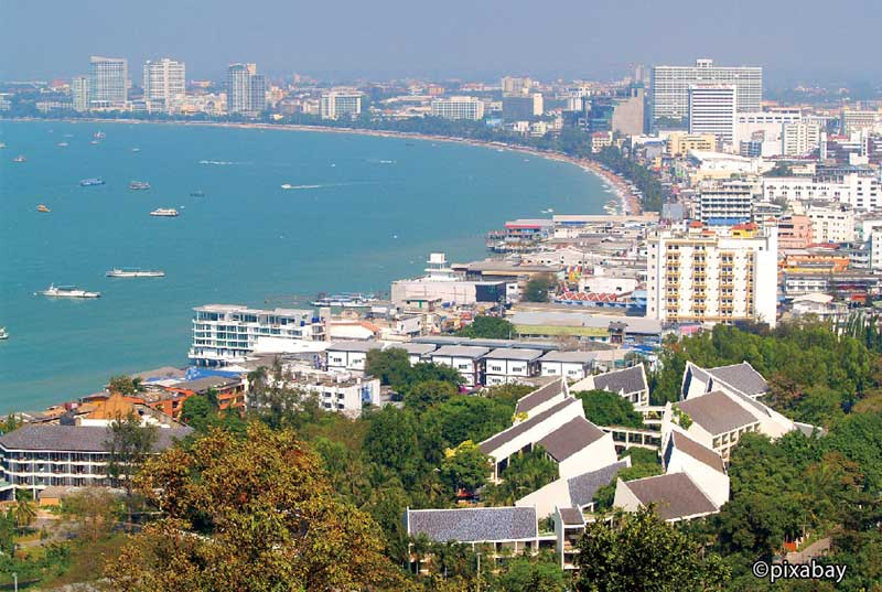 パタヤビーチ曇りのち晴れ - ワイズデジタル【タイで生活する人のための情報サイト】