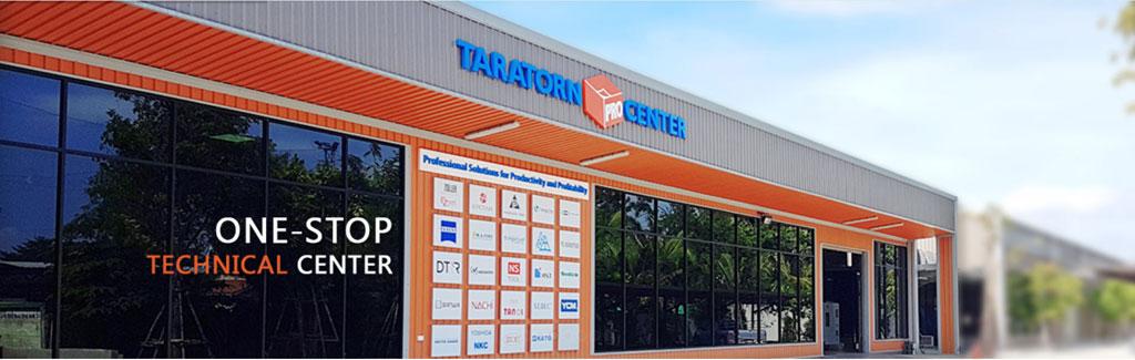 現場が抱える課題は、多岐にわたる。いくら新たな製品や機械を導入しても、オペレーターが使いこなせなければ、意味がない。そこで同社は、「Taratorn Pro Center」と呼ぶ「ワンストップ技術サービスセンター」を設置。1000㎡のフロアには、機械・工具などの展示スペースの他、講習を実施するセミナー会場や会議室を設け、顧客の要望に沿ったワークショップを開いている。