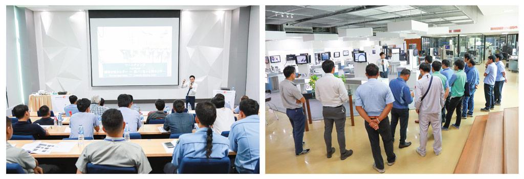 顧客ニーズの要望に応じ、年間を通してセミナーも開催。全てはタイ製造業界の発展のためだ。