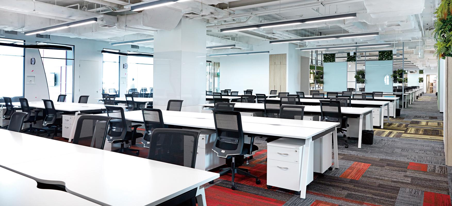 オフィス構築、家具・文具販売