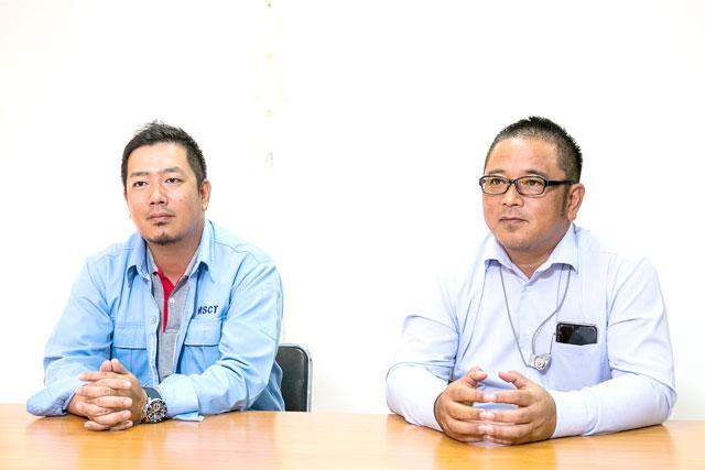 石嵜允薫ビジネスディベロップメントマネージャー (左)と不破康介ゼネラルマネージャー