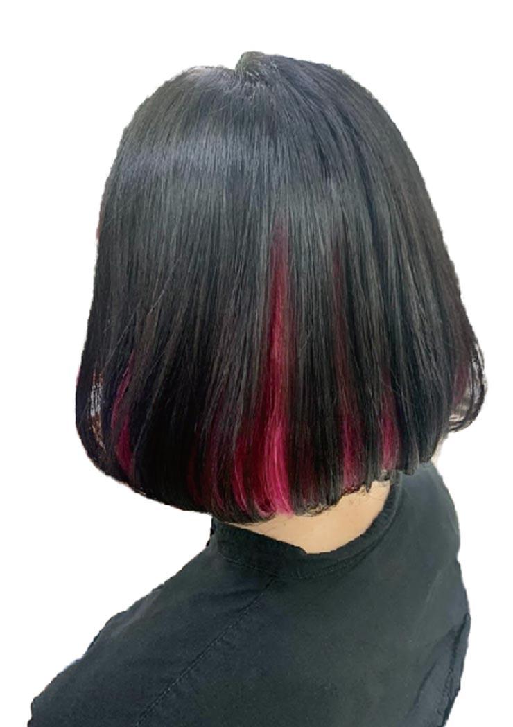 ヘアスタイル インナーカラー+オンカラー - Hair Style Inner Color - 3,200B〜