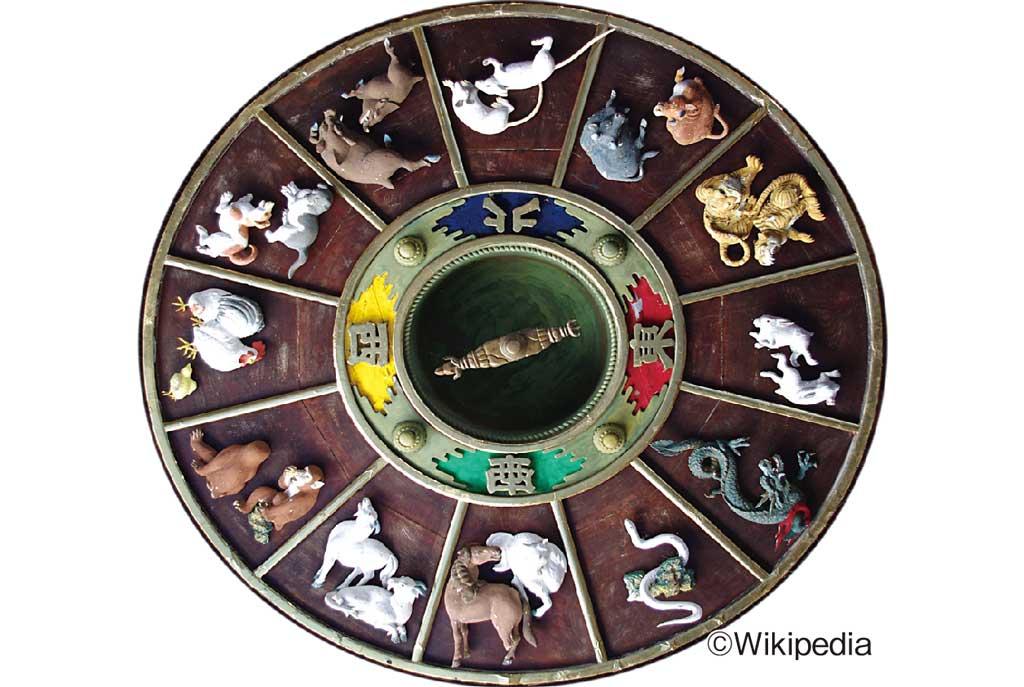 タイの十二支では辰(タツ)→蛇神ナーガ、亥(イノシシ)→ブタ、未(ヒツジ)→ヤギになります