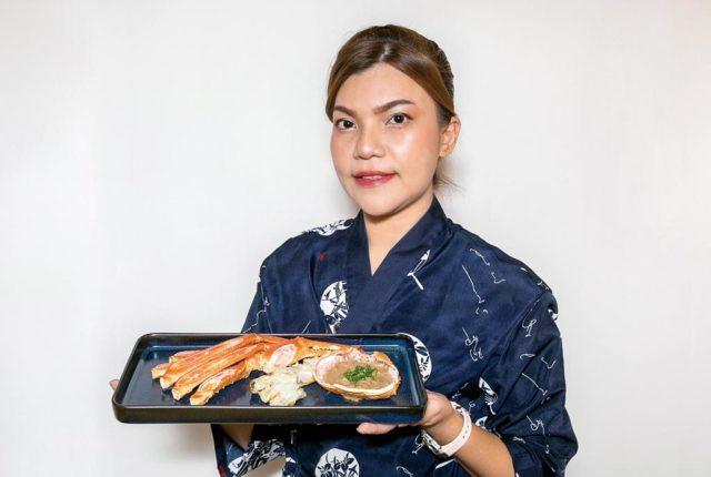 【みかみ】焼きズワイガニ - ワイズデジタル【タイで生活する人のための情報サイト】