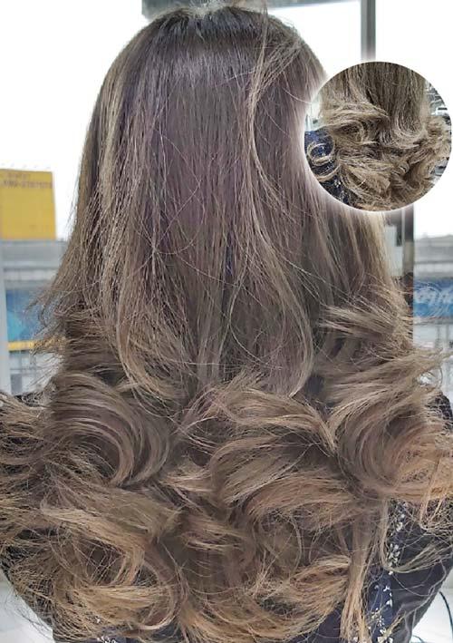 ヘアスタイル ハイライトカラー - Hair Style Highlight Color - 2,000B〜