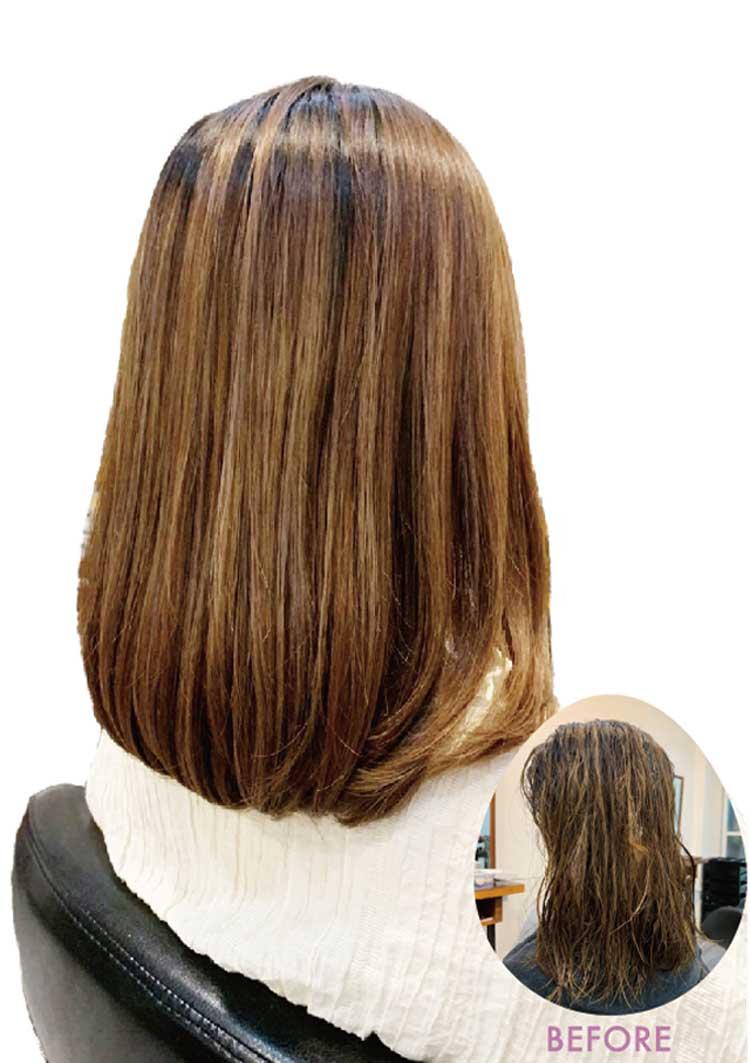 ヘアスタイル Sオリジナル髪質改善 +ソムリエ厳選シャンプー付き - Hair Style HairQuality Treatment - 2,600B
