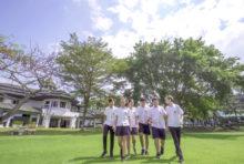 緑あふれるグリーンバレー校のキャンパス