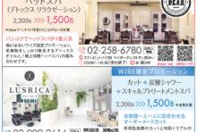【期間限定】WiSE限定プロモーション ☆DEAR LUSRICA☆