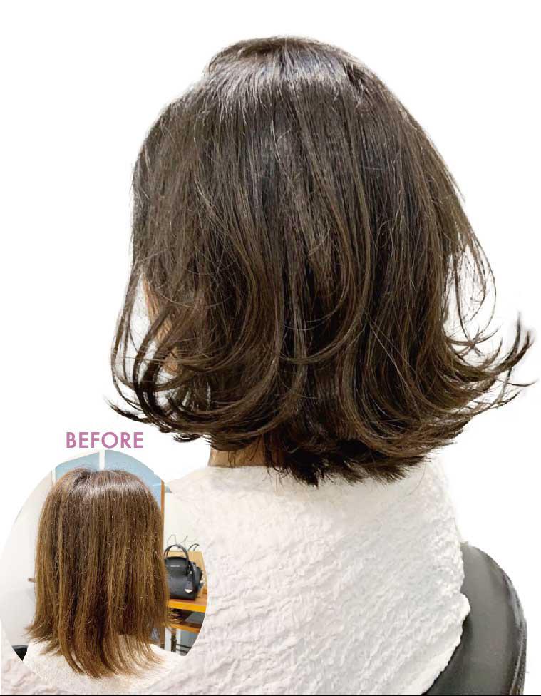ヘアスタイル Sオリジナル髪質改善 +活性炭素除去 - Hair Style HairQuality  Treatment - 2,500B〜
