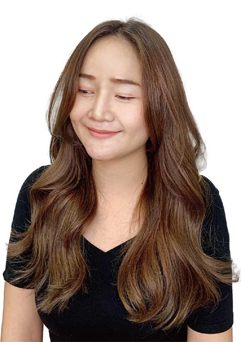 ヘアスタイル カット+カラー+炭酸ケア - Hair Style Layer Style - 3,200B〜