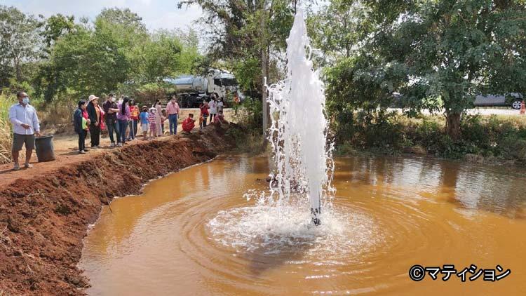 天然炭酸水が噴出して大騒ぎに - ワイズデジタル【タイで生活する人のための情報サイト】