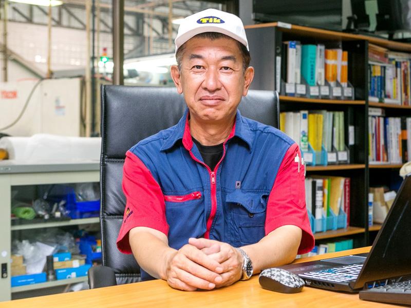 คุณมิโนรุ คากินูมะ ผู้จัดการโรงงาน
