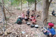 ミャンマー軍が少数民族支配地域を空襲、数千人がタイに避難