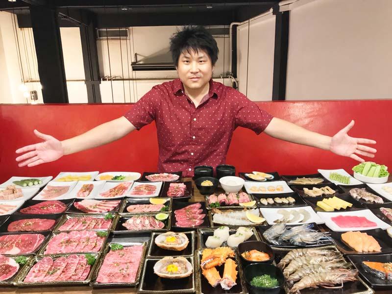 日本食No.1インフルエンサー「セマグデーク」として飲食店巡り。1回の投稿で170万人が閲覧することもある。