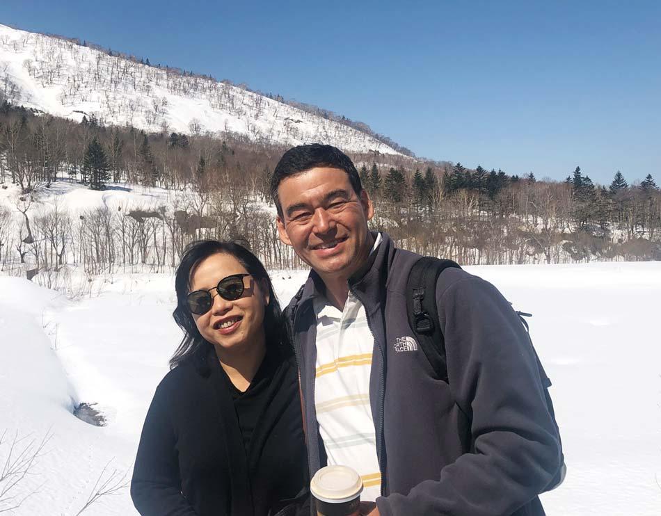 プライベートでも日本を訪れるYodchai氏。中でも、冬の北海道がお気に入りだという