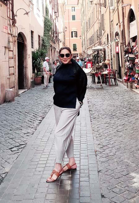「世界中を旅することで、各都市からインスピレーションを受けています」