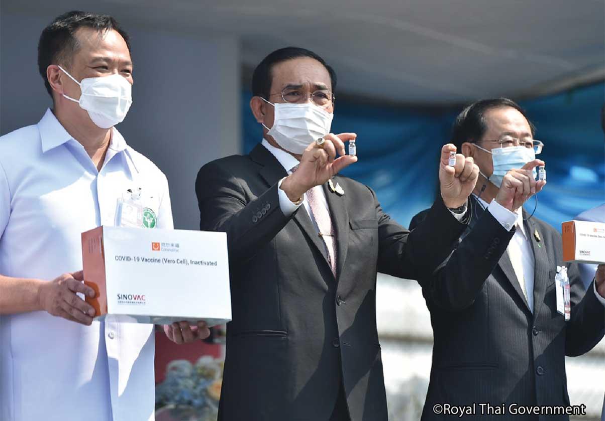 ワクチンが到着、接種開始 - ワイズデジタル【タイで生活する人のための情報サイト】