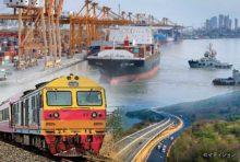 物流路に適した特別高速道路と複線の鉄道、そしてパイプラインを並走させて、アンダマン海とタイ湾を陸路で結ぶ