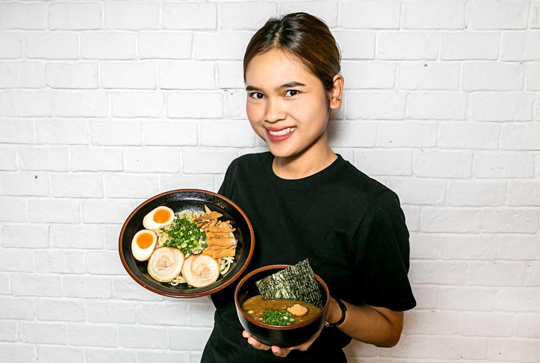 【つけ麺 城 アソーク店】濃厚魚介つけ麺 - ワイズデジタル【タイで生活する人のための情報サイト】