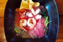 魚介入り紅腐乳麺・・・・ 80B