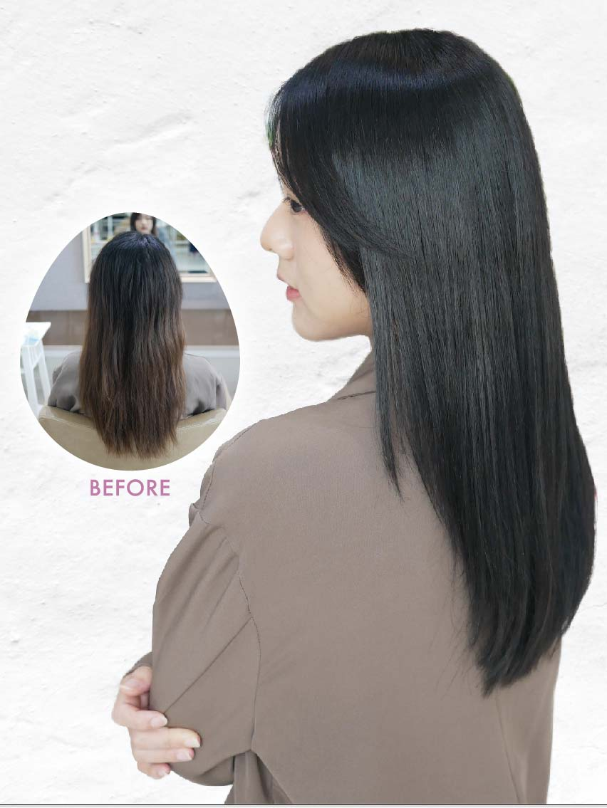 ヘアスタイル カラー(4月末まで)・髪質改善・カット - Hair Style HairQuality Improvement - 1,800B〜 ・3,500B〜 ・1,200B