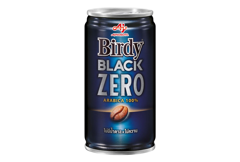 ブルーを基調としたクールなデザイン。BLACK ZEROのフレーズが強調されている