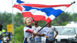 3月28日〜5月27日の間、東京オリンピック出場選手を応援する「FLAG OF NATION」キャンペーンが開催されている。ボランティアがひとり1kmずつ走り、その合計距離は東京〜バンコク間と同じ。