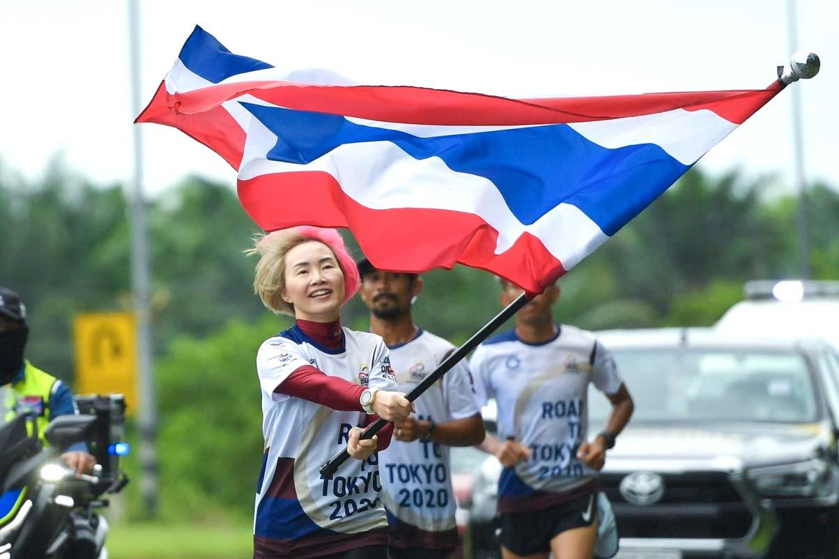 4600kmあまりをリレーしてオリンピック出場選手を応援 - ワイズデジタル【タイで生活する人のための情報サイト】