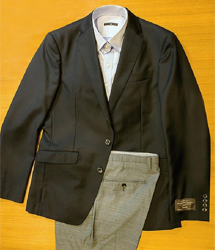 年齢や肌の色、シーンを問わずに着られ、トラッドな雰囲気を醸すロイヤルブルー&ダークネイビーの2色を用意。スーツとしての着用はもちろん、汎用性が高く、シャツやパンツもデザインを選ばない。
