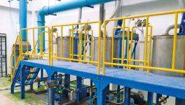 2018年に稼働したプラパデン新工場。ここから高品質かつ安価な製品を供給する