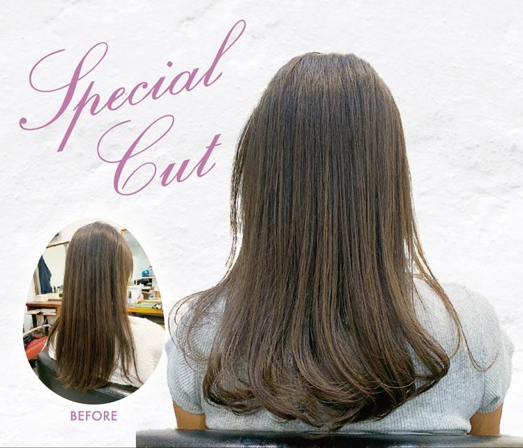 ヘアスタイル ディレクターズカット・タイ人トップスタイリストカット - Hair Style Special Cut - 1,600B・800B+活性酸素除去200B